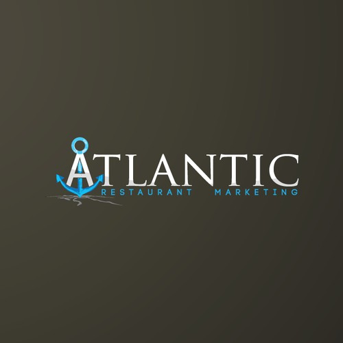 logo design for Atlantic Restaurant Marketing