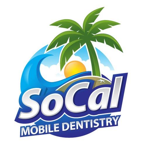 Modern logo for Mobile Dentistry