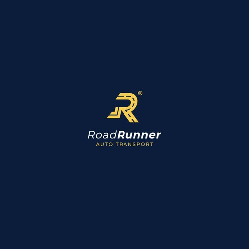 Bold minimal logo for Auto Transport Company
