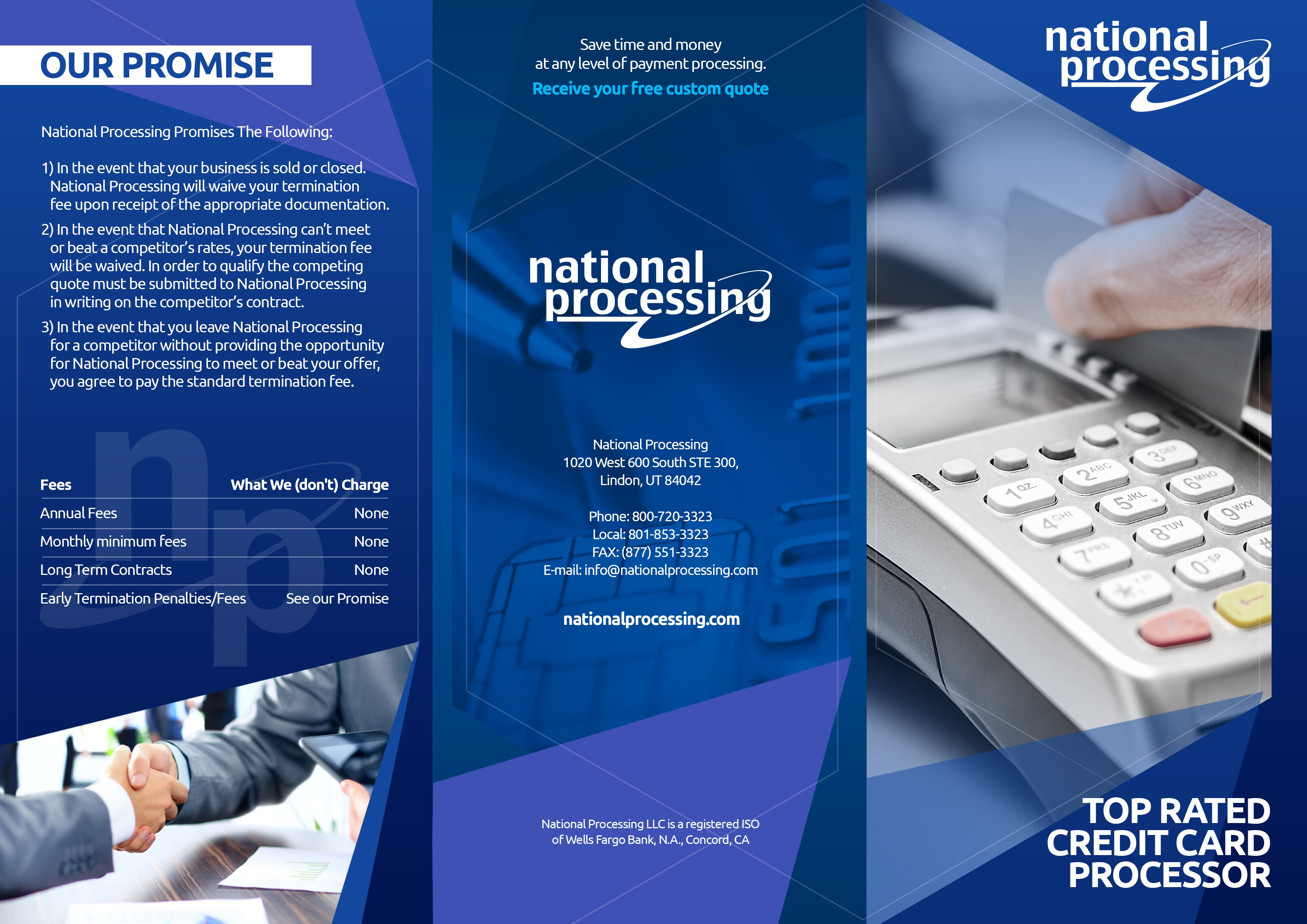 Innovative Merchant Services Provider Needs Compelling Brochure