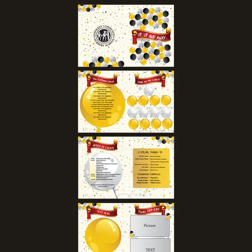 Nursery School Graduation Booklet
