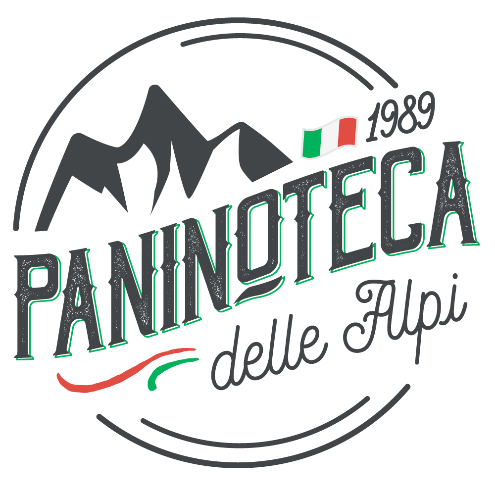 Logo for modern/traditional Italian take-away restaurant in the Alps