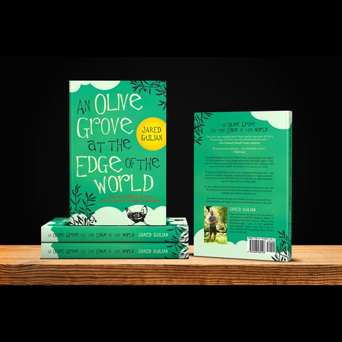 """Book cover for """"An Olive Grove at the Edge of the World"""""""