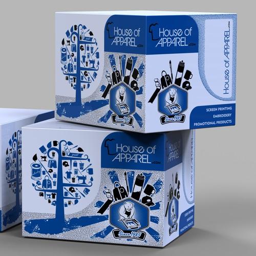 Creative Shipping Box Design