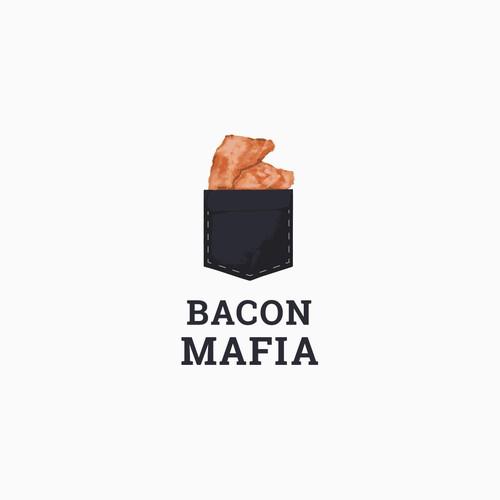 Bacon Mafia Logo Design