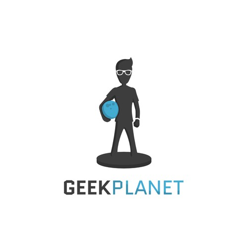 "Logo concept for ""Geek Planet"""