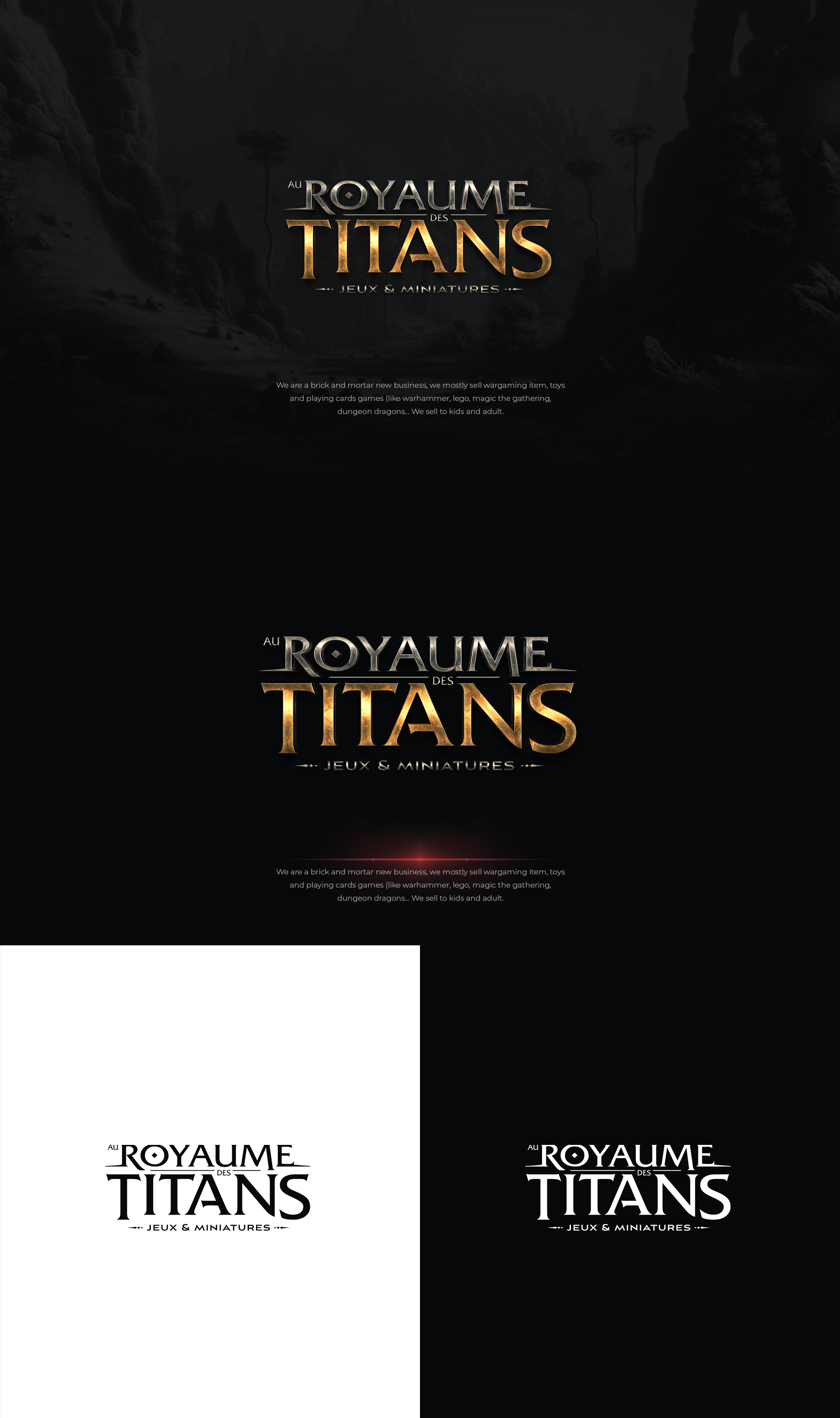 Au royaume des titans logo (kingdom of the titans)