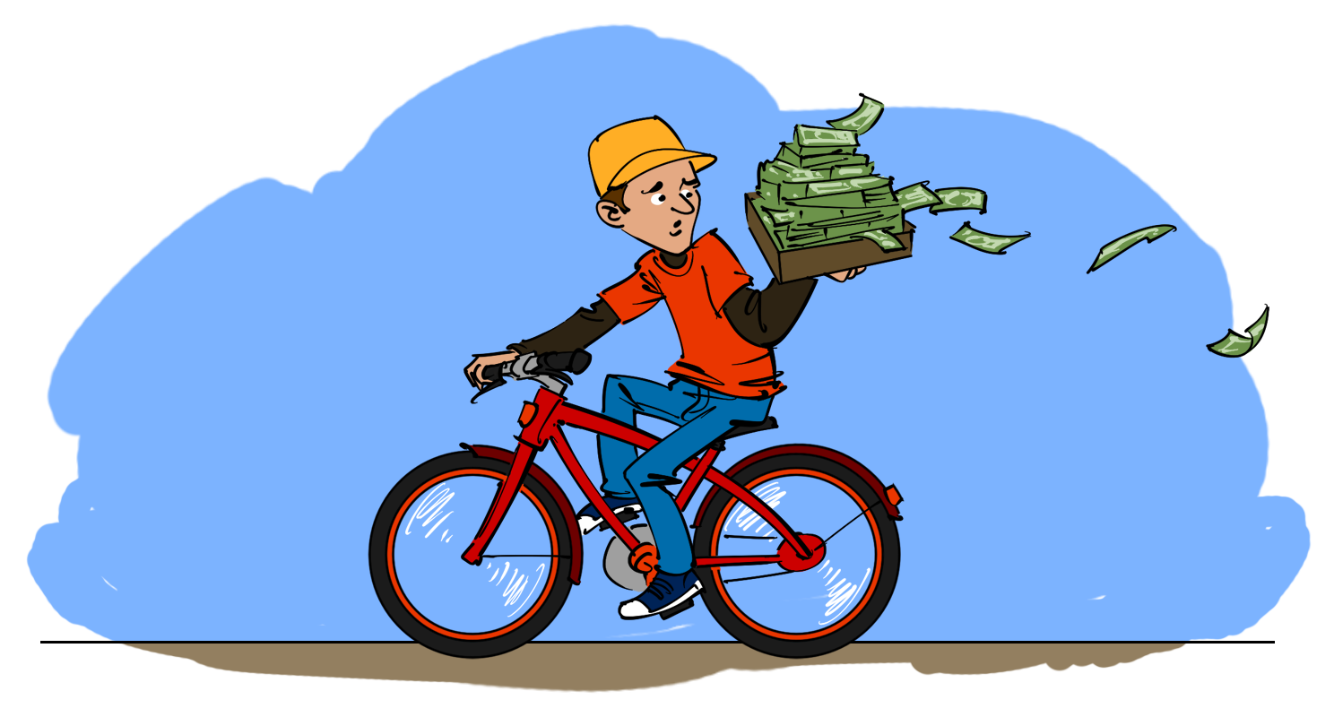 Delivering dollars