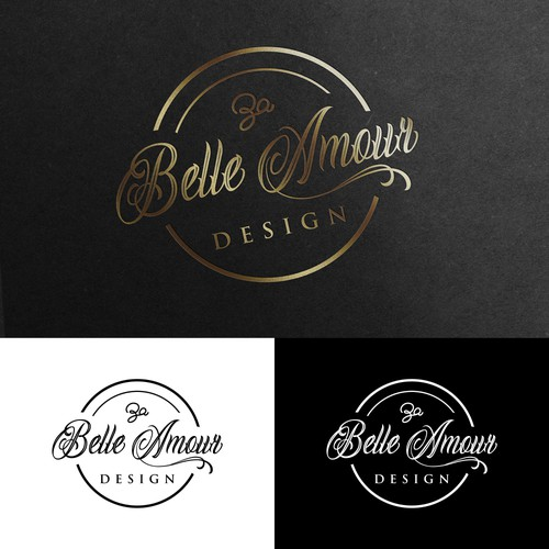 Elegent logo for a wedding gift company