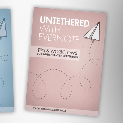 Untether your creativity on an Evernote themed eBook cover design.