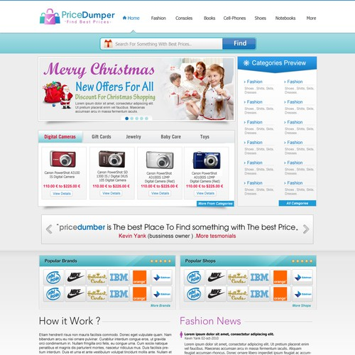 Logo + Website needed for Relaunch of Shopping Search Engine