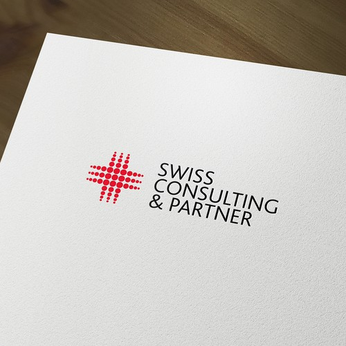 Logo and branding for a consulting firm.