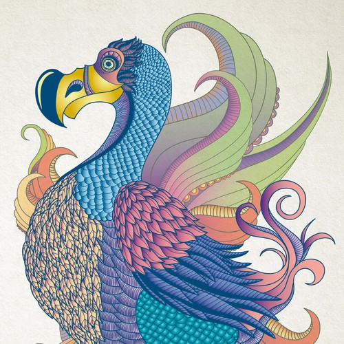Dodo Bird Poster Art