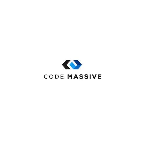 Bold logo concept for web application
