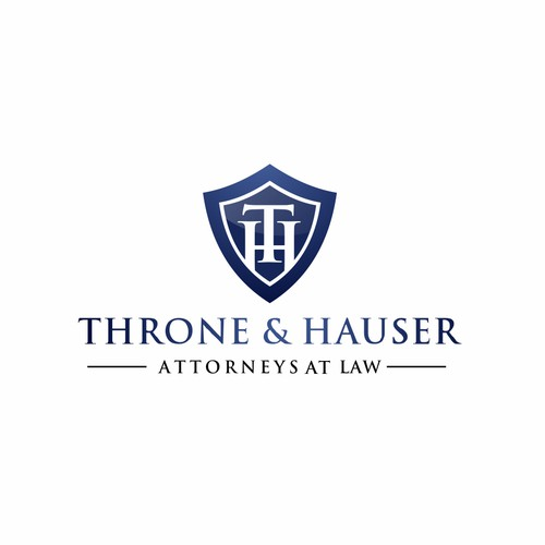 Logo design for Throne & Hauser - Family Law Attorneys