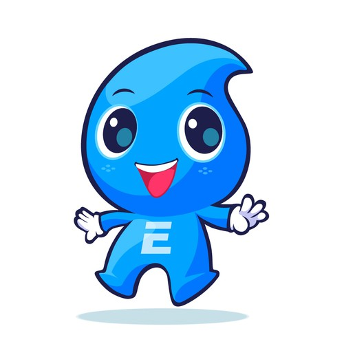 Mascot concept for a water company