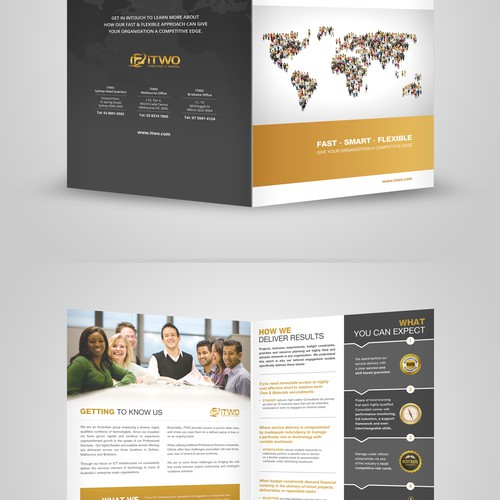 Create a great new brochure for iTWO!