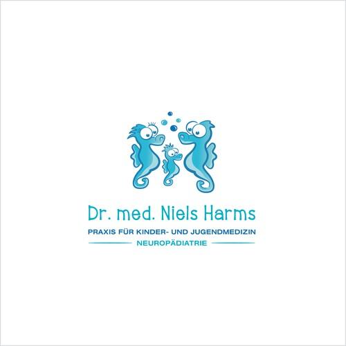 Logokonzept für Kinderarzt