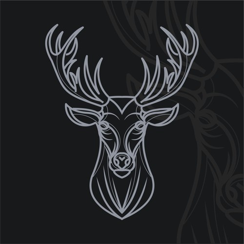 Create a deer logo for tutoring