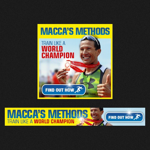 banner ad for MaccaX