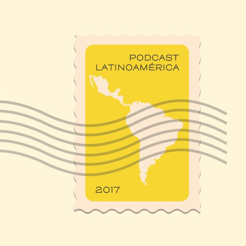 Latin podcast cover detail