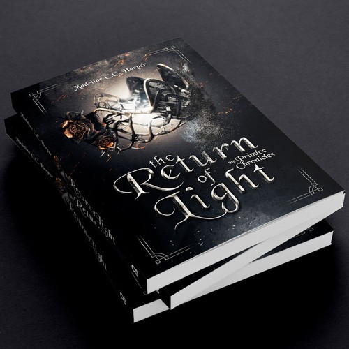 The Return of Light - Cover for an epic fantasy