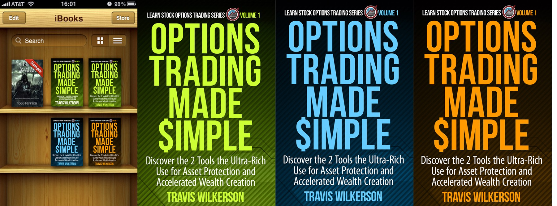 Help The Options Trading Group with a new Kindle eBook Cover