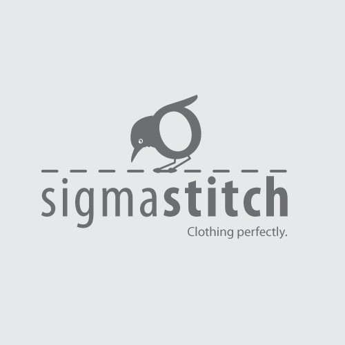 "Sigma Stitch is looking for a clean, modern logo (with the a ""σ"")"