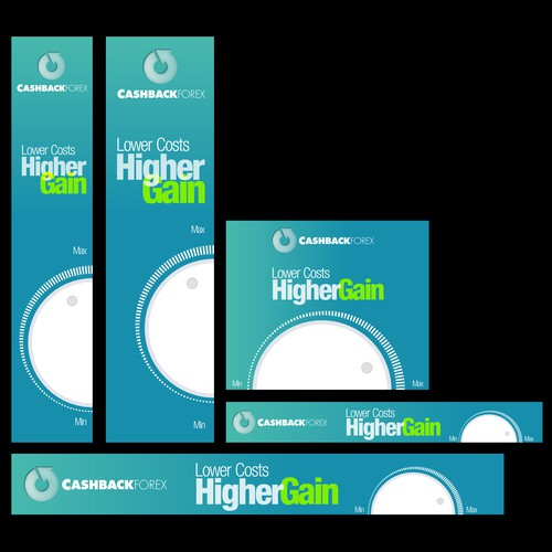 Cashback Forex banner ad