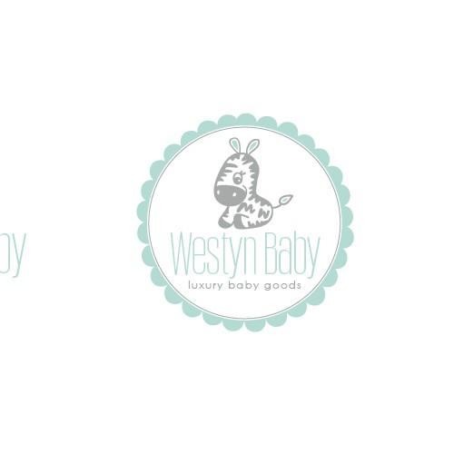 westyn baby logo design