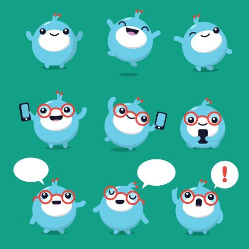 mCent Browser Mascot
