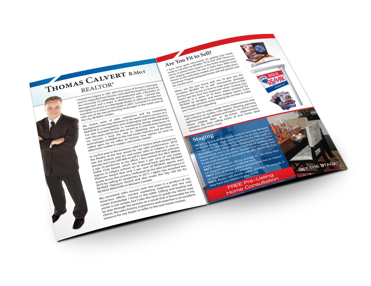 Listing presentation design for RE/MAX Agent