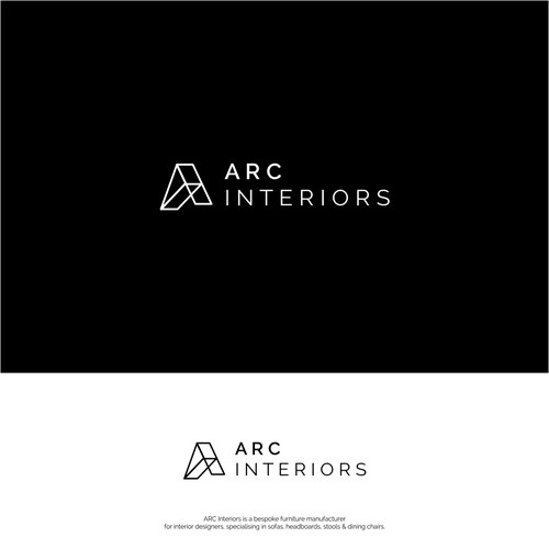 Logo design for Arc Interiors
