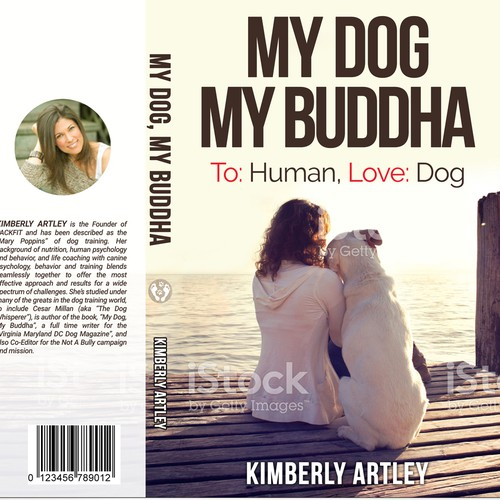 "Book Cover for ""My Dog, My Buddha"""