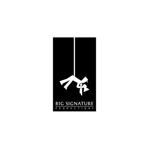 Logo Design for Film Production Co. - Big Signature Productions