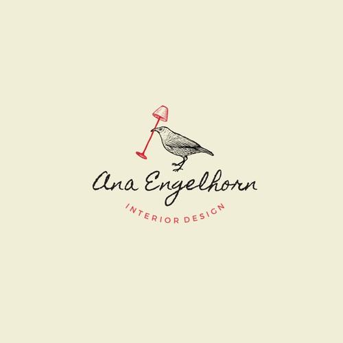 Ana Engelhorn Interior Designer Logo
