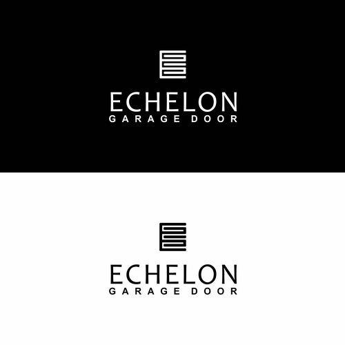 "Luxury of ""E"" for ECHELON GARAGE DOOR"