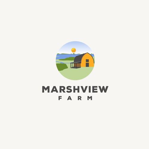 logo for a wonderful, local, veggie farm