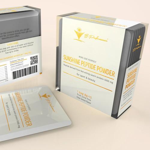 Sachet Box Packaging Concept