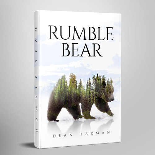 "Book Cover ""Rumble Bear"""