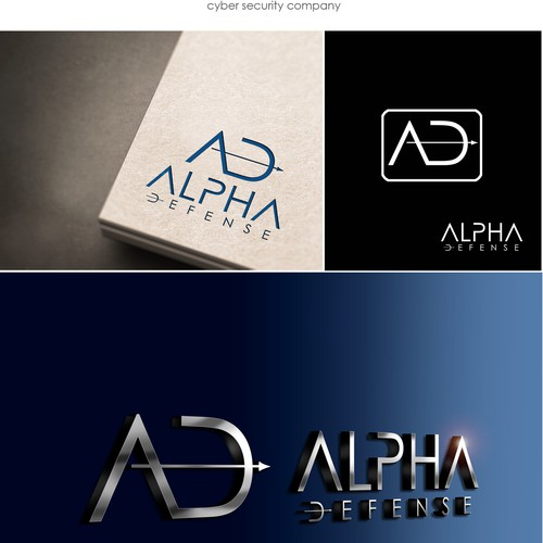ALPHA DEFENSE - logo design