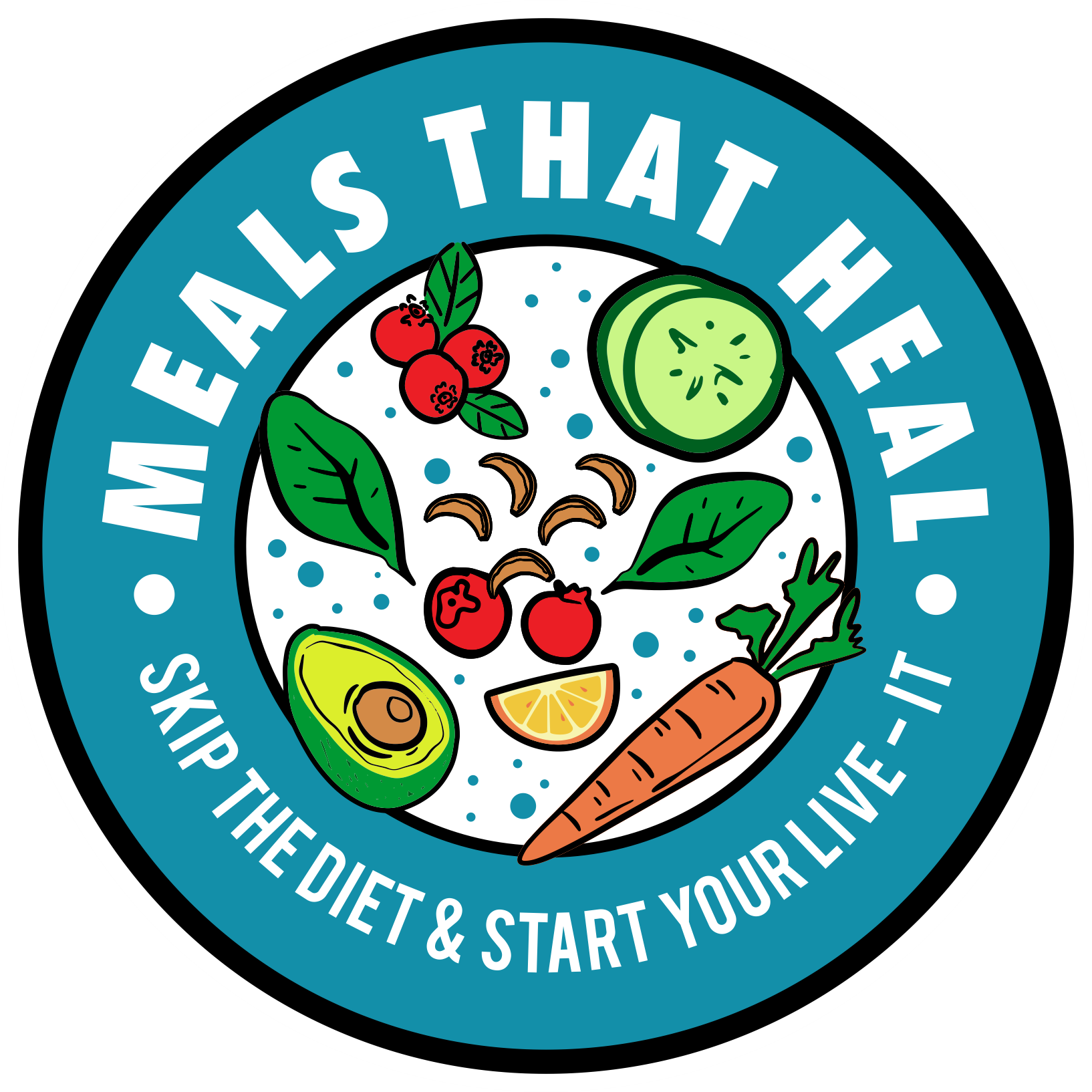 Fresh & organic sticker that appeals to women receiving a healthy food box