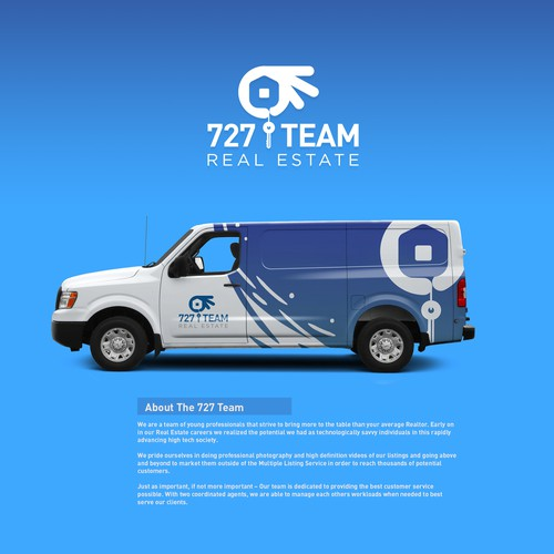 Logo for The 727 Real Estate Team