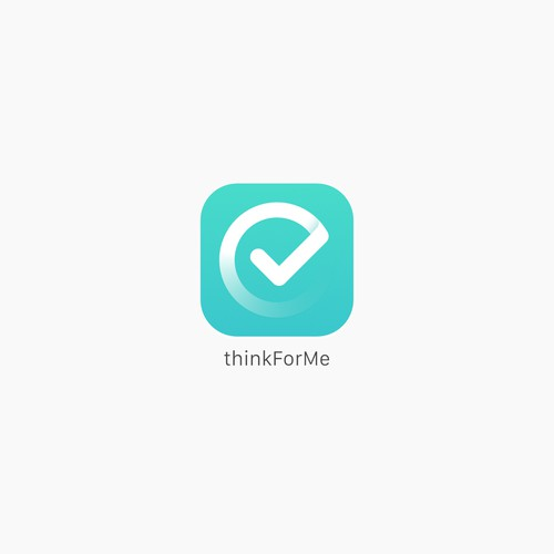 iOS app icon for thinkForMe