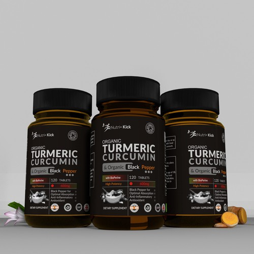 label for TURMERIC