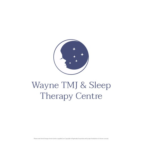 Logo concept for Wayne TMJ & Sleep Therapy Centre