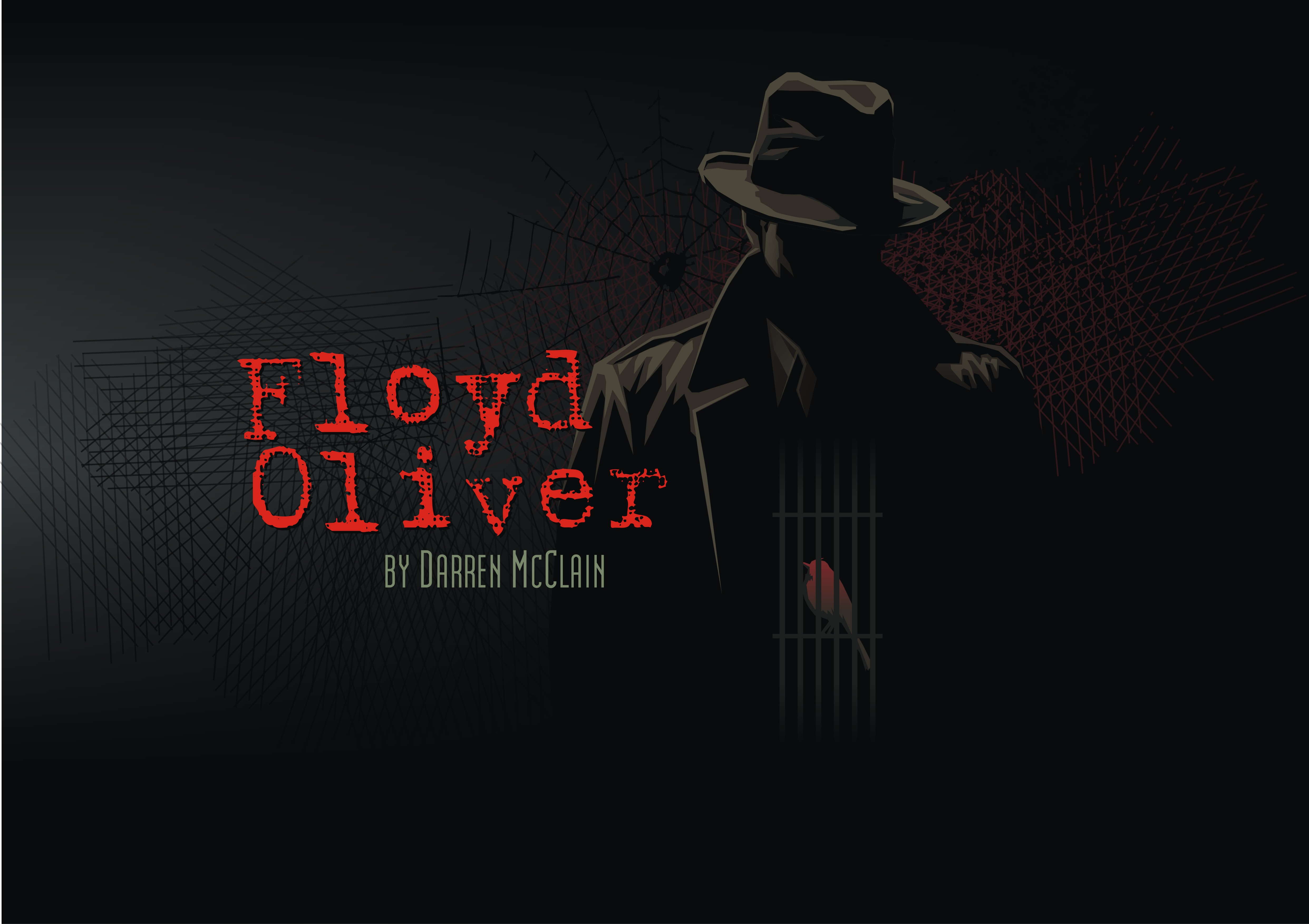 Dark Literary Serial Fiction Crime Thriller Artistic Cover