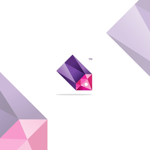 Polygonal logo for Jewel Deals