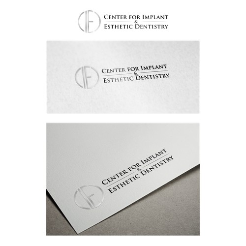 Create a modern yet sophisticated and elegant logo for a dental (Prosthodontic) office in Beverly H