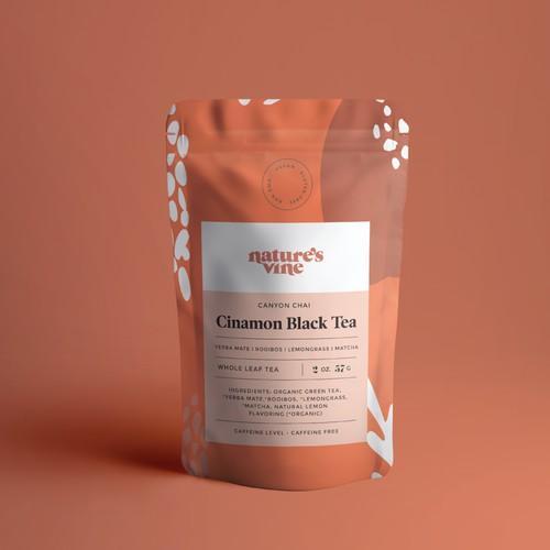 Packaging for Nature's Vine Tea & Botanicals